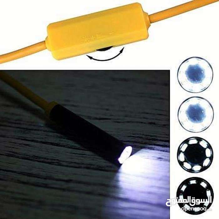 130 HD 1200P Adjustable 8 LEDs Wifi Endoscope Camera 8.0mm IP68 Hard Cable