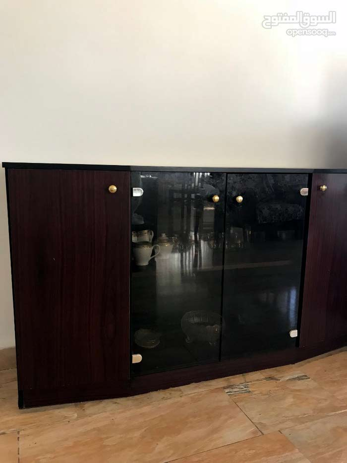 Sideboard with glass doors