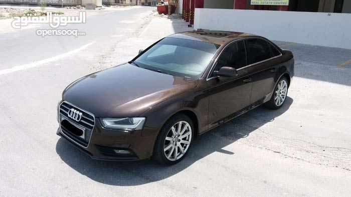 Audi A4 2013 (Brown)