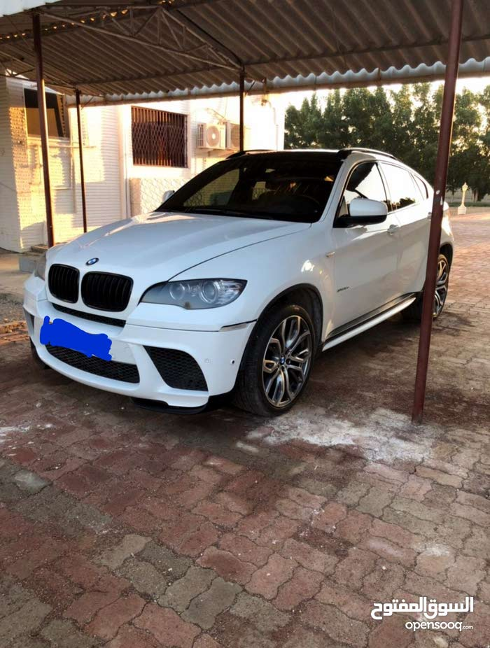 BMW X6 2011 For sale - White color