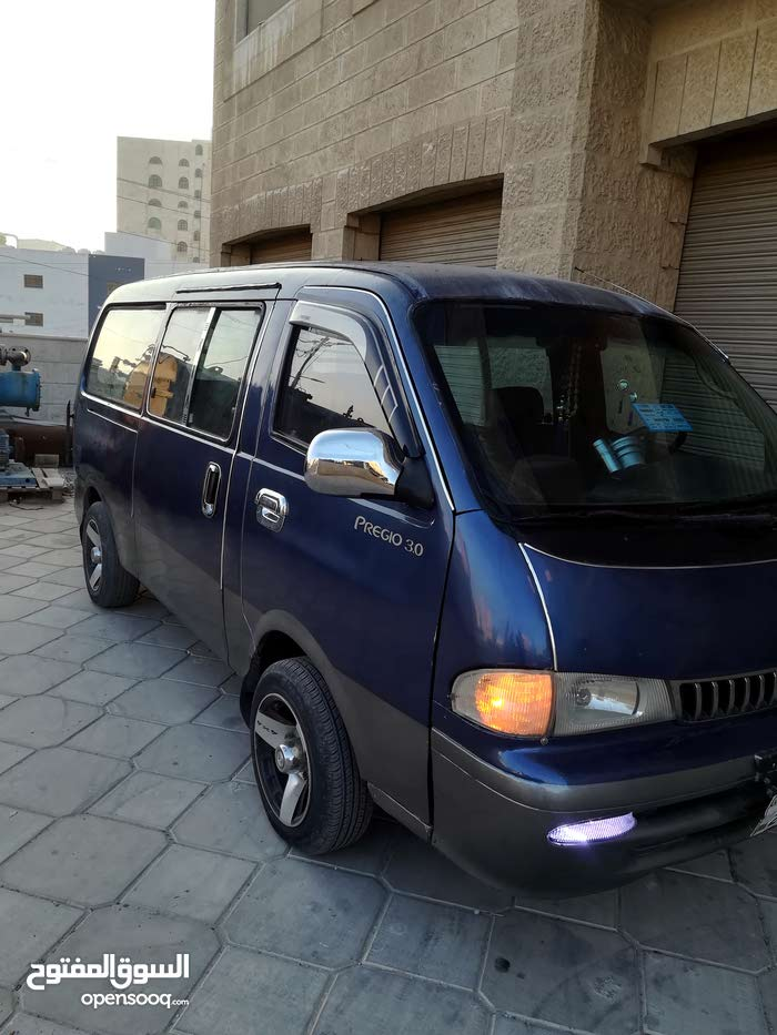 Blue Kia Borrego 1997 for sale