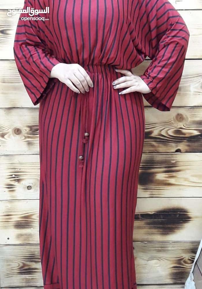 فستان صيفي فري سايز يلبس 40.42.44