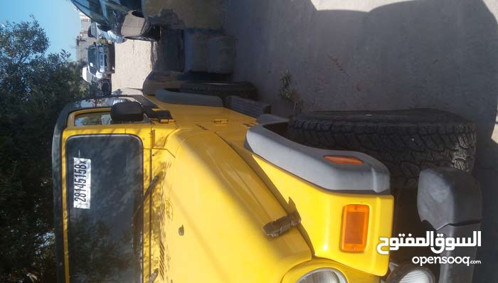Automatic Yellow Jeep 2003 for sale
