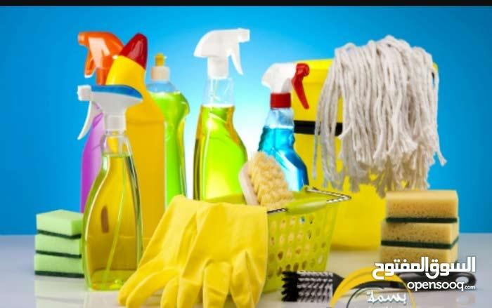 اختصاصنا تنظيف الفلل والبيوت والمكاتب