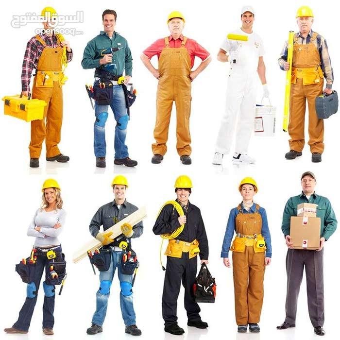 """""""أي خدمة""""خدمات صيانة تركيب تشطيب تنظيف - فنيين في كل المجالات - أقل خبرة 15سنة"""