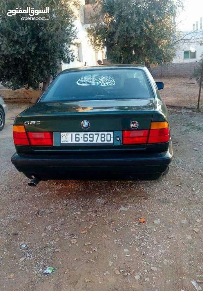 Bmw 520 1990 بحاله جيدة للبيع