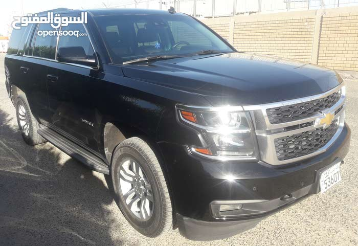 Black Chevrolet Tahoe 2015 for sale