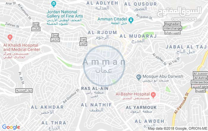 Ground Floor  apartment for rent with More rooms - Amman city Jabal Al Zohor