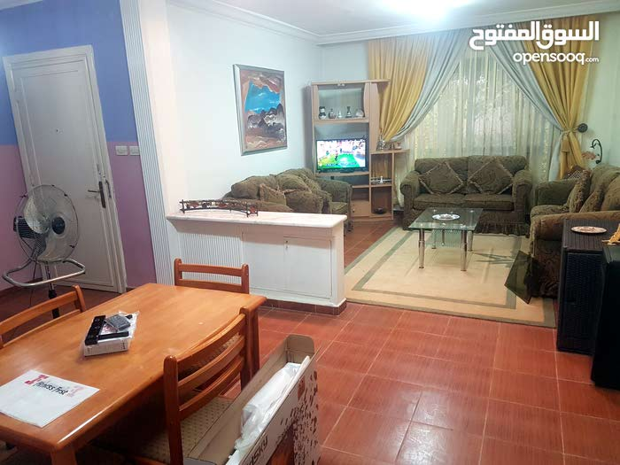 Abdoun neighborhood Amman city - 110 sqm apartment for rent