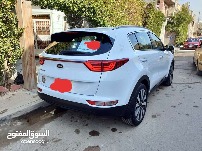 Automatic White Kia 2019 for sale