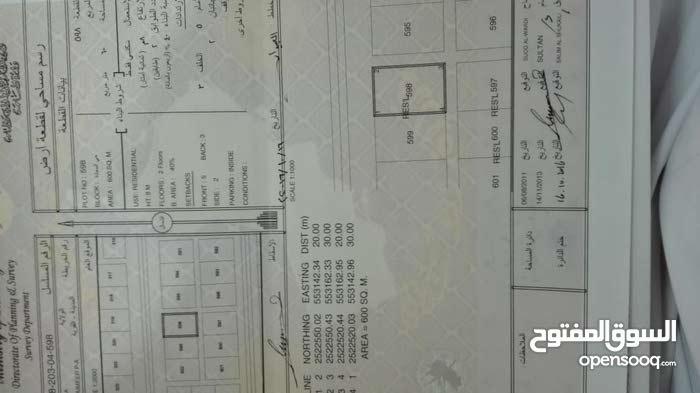 ارض سكنيه في المعمير4 (حي السعاده) في بداية المخطط جنب المعمير 3