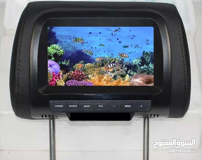 7 inches TFT LCD Digital Screen Car Headset monitor شاشه خلفيه