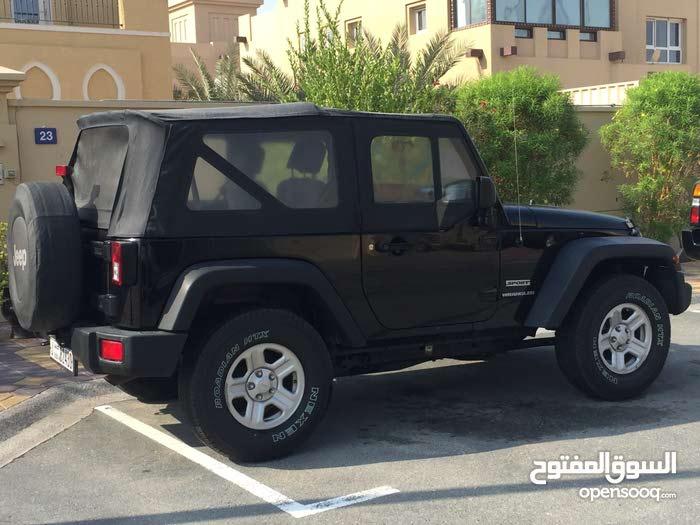 For sale Jeep Wrangler car in Dubai