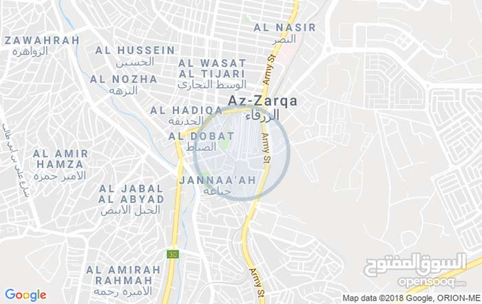 Second Floor  apartment for rent with 3 rooms - Zarqa city Al Zawahra