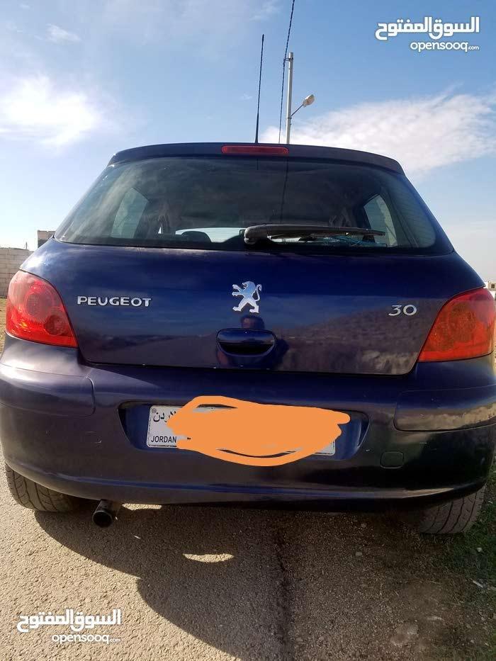 Manual Blue Peugeot 2002 for sale