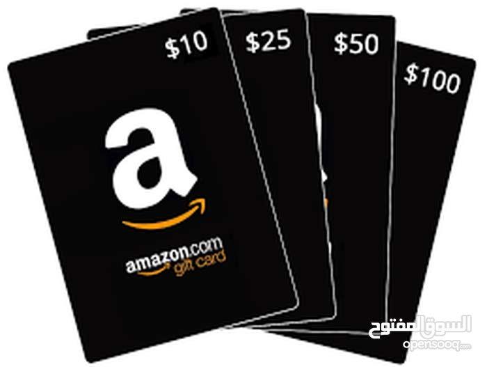 كروت امازون للتسوق من الموقع من amazon gift