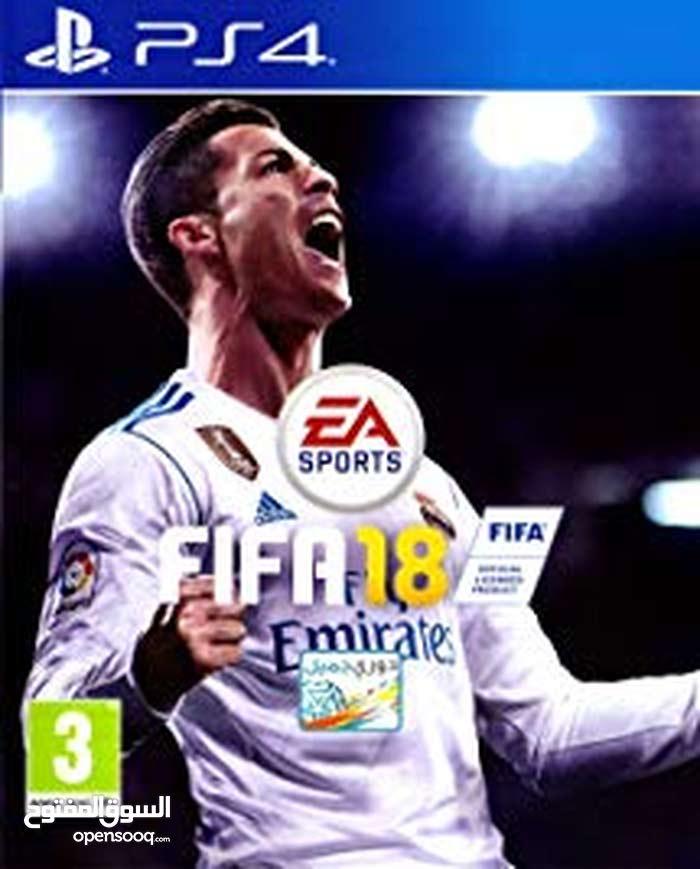 Fifa18 - PS4 Eng-Ara