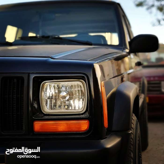 Black Jeep Cherokee 1999 for sale
