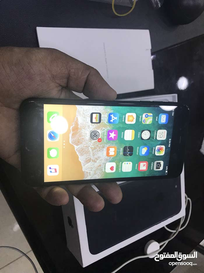 iphone 7plus 128gb met black