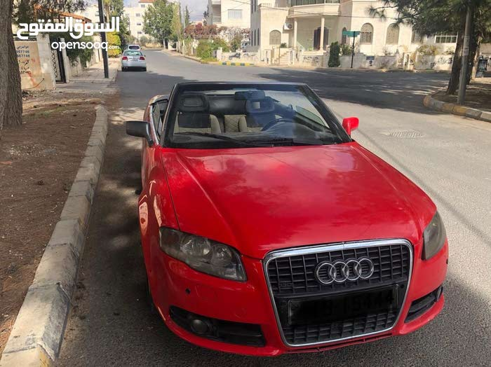 Manual Red Audi 2007 for sale