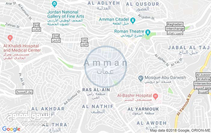 Abu Alanda neighborhood Amman city - 150 sqm apartment for sale