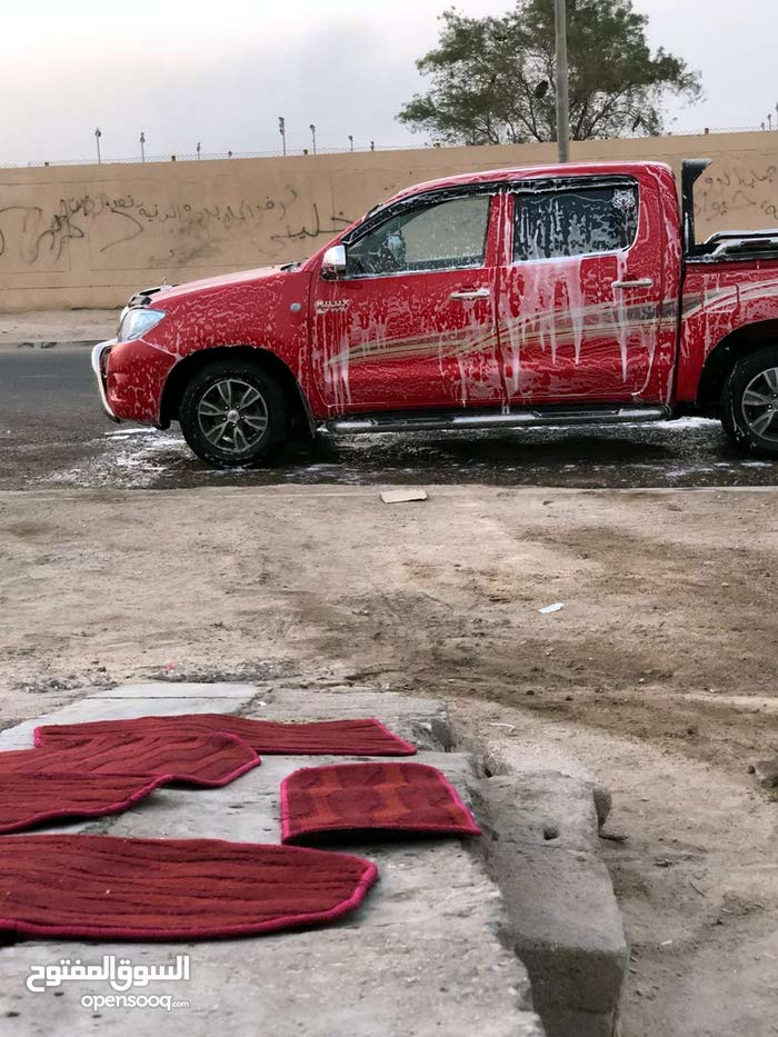 Red Toyota Hilux 2010 for sale