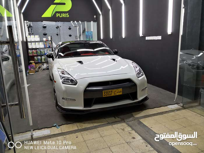 White Nissan GT-R 2015 for sale