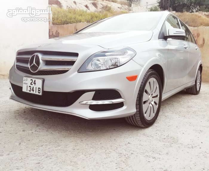 Silver Mercedes Benz B Class 2014 for sale