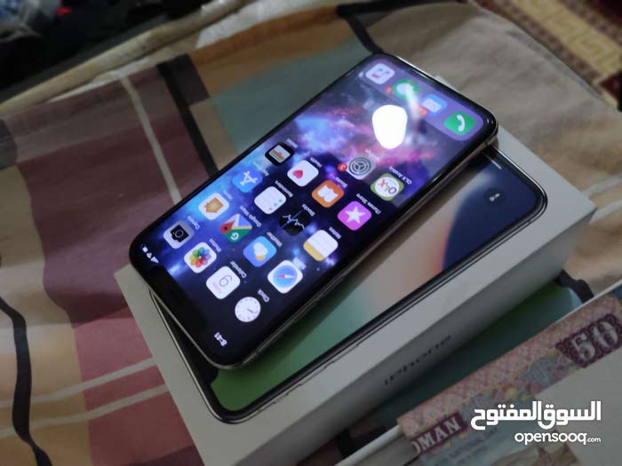Iphone X 64gb Clear coated worth (35 rial)