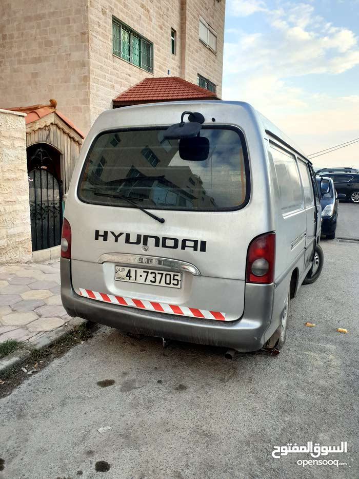 Used condition Hyundai H100 2002 with +200,000 km mileage