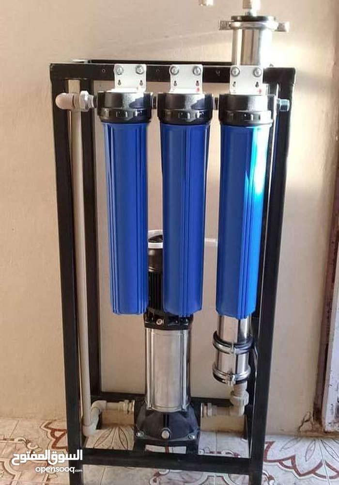 منظومات تحلية مياه سعة 8000 لتر في اليوم