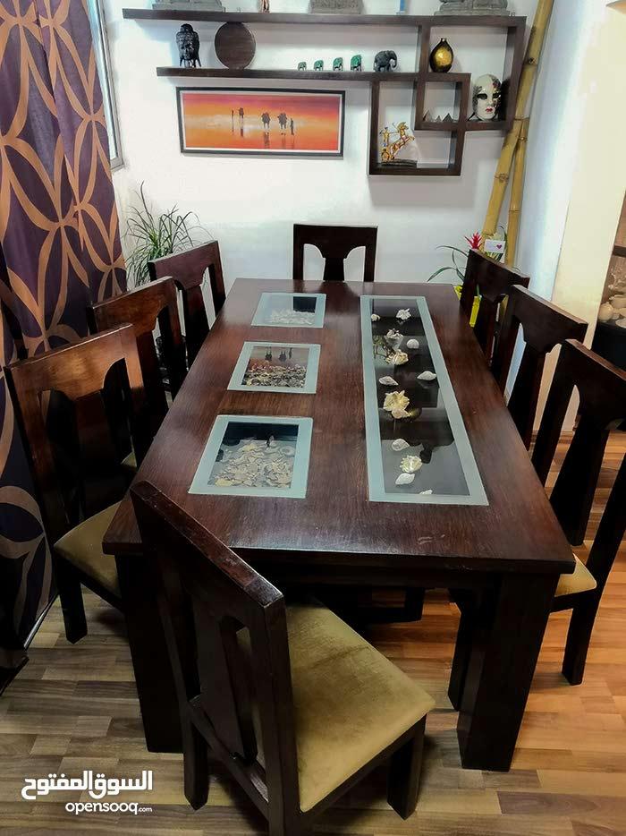 طاولة سفرة 8 اشخاص