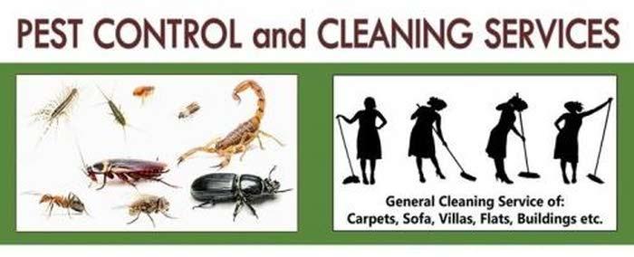 مكافحة الحشرات وخدمات التنظيف